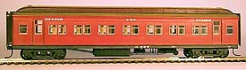 STEAM ERA VICTORIAN RAILWAYS W CLASS PASSENGER CAR