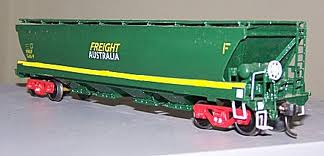 STEAM ERA FREIGHT AUSTRALIA VHGF BULK GRAIN HOPPER WAGON